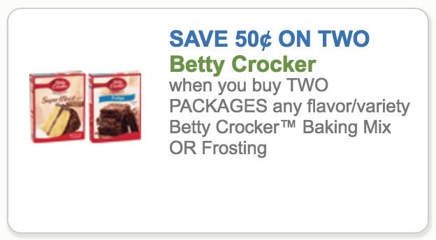 betty crocker cake coupon