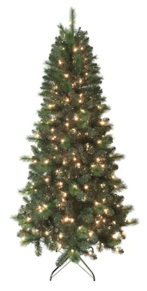 live now kohls black friday deal 7 ft pre lit christmas tree for as - Christmas Tree Black Friday