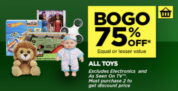 HUGE Dollar General TOY SALE online- B1G1 75% off! 153 items to choose from- ends Sat 11/25!