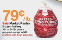 Target Turkey Prices Market Pantry