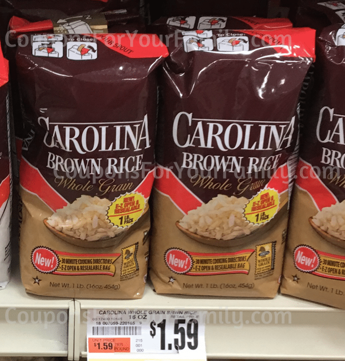Tops Barolina Brown Rice
