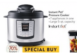 Walmart Special Buy LIVE NOW ~ Instant Pot Pressure Cooker ONLY $49!!!
