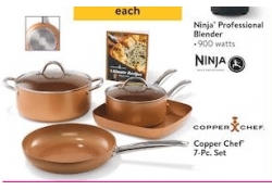 Walmart Special Buy LIVE NOW ~ Copper Chef 7-Pc Set ONLY $49!!!