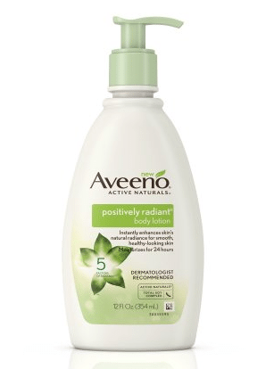 Walmart: Aveeno Positively Radiant Lotion Only $5.77!