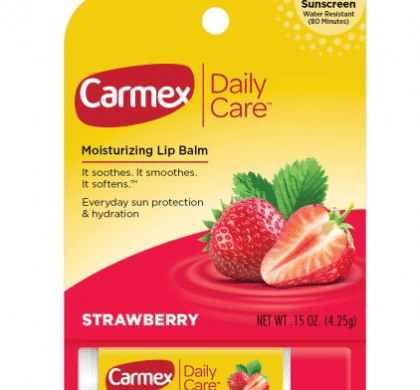Walmart: Carmex Daily Care Lip Balm Only $0.63!