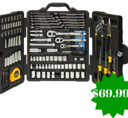 Amazon: Stanley STMT81031 Mixed Tool Set Only $69.99 Shipped (Reg. $109, Today Only)