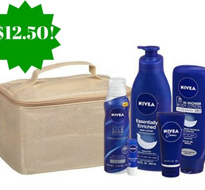 Amazon: Nivea Luxury Collection 5 Piece Gift Set Only $12.50 (Reg. $25, Today Only)