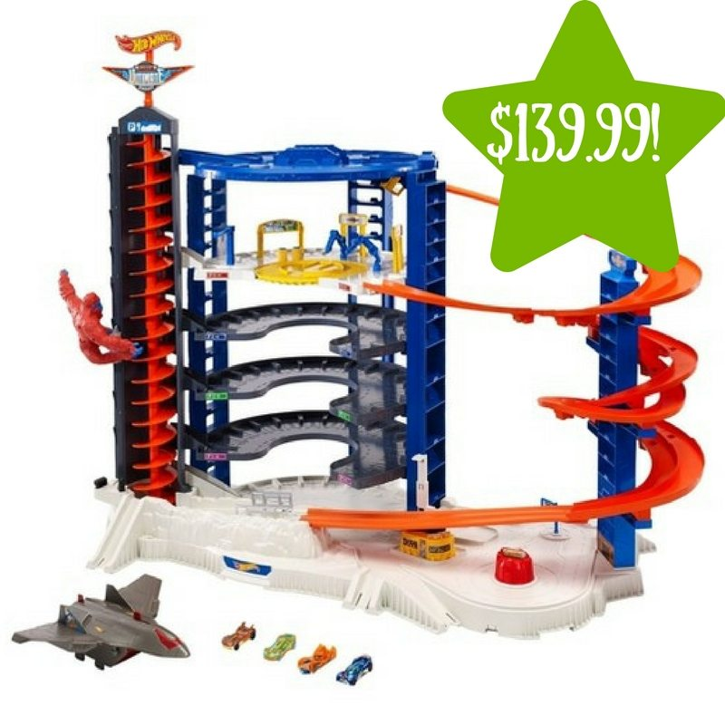 Target: Hot Wheels Super Ultimate Garage Playset Only $139.99 (Reg. $200)
