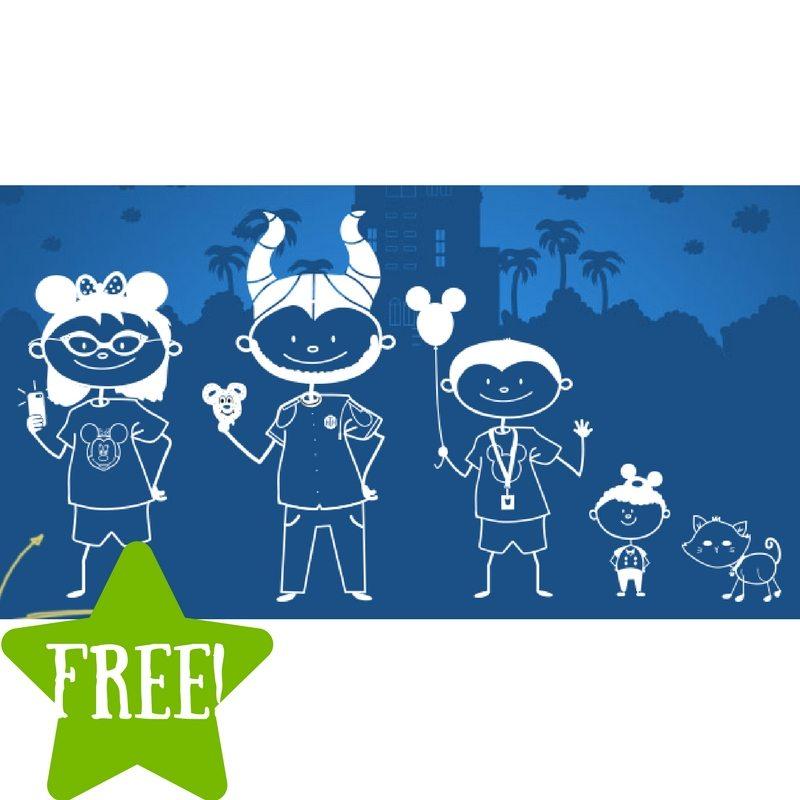 FREE Custom Disney Family Decal