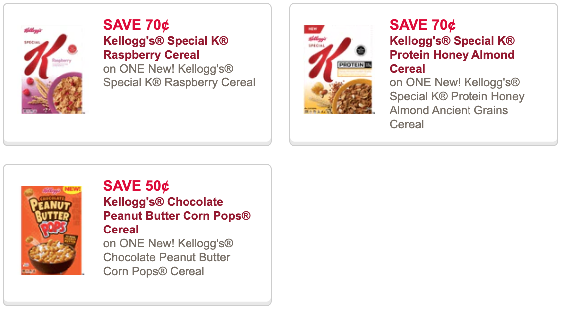 Kelloggs ceral coupons 2