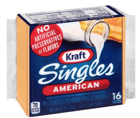 Wegmans: Kraft Cheese Singles Only $2.79!