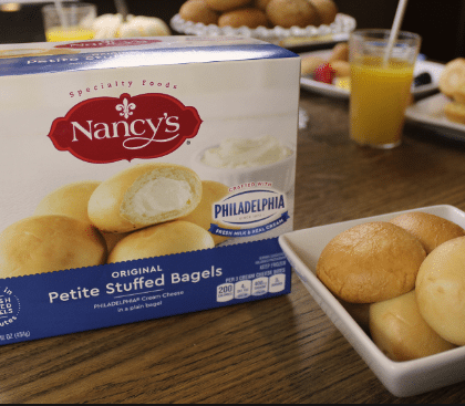 *NEW* $1.00/1 Nancy's Stuffed Bagels Coupon = $4.98 at Walmart!