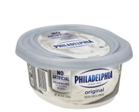 Wegmans: Philadelphia Cream Cheese Tubs Only $2.89!