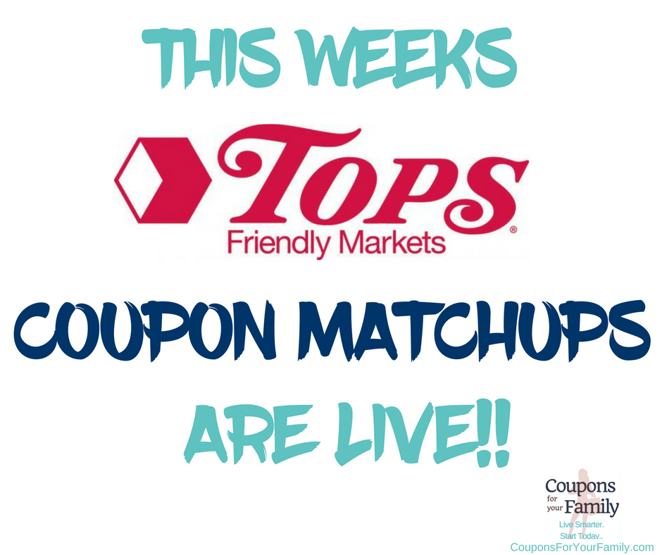 The Best Deals at Tops Friendly Markets 8/12-8/18 are live!