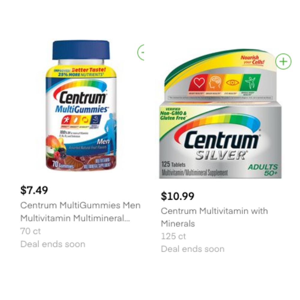 tops centrum coupon deals