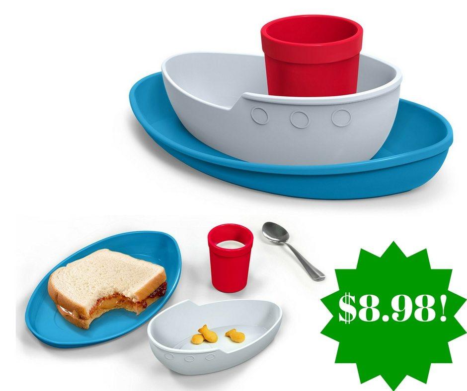 Amazon: Fred TUG BOWL Kids' Dinner Set Only $8.98 (Reg. $20)