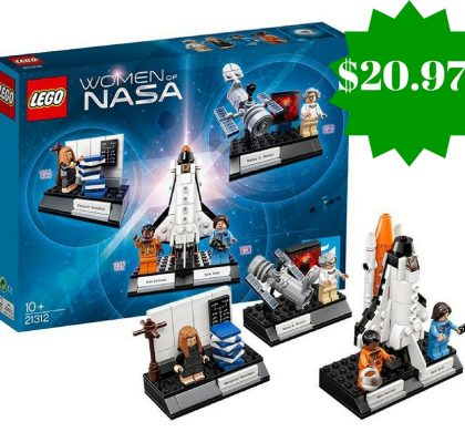 Amazon: LEGO Ideas Women of Nasa Building Kit Only $20.97 (Reg. $25)