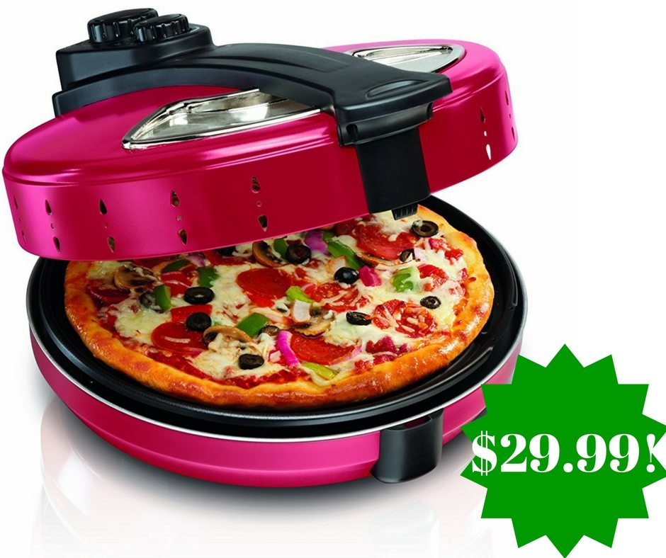 Amazon: Hamilton Beach Pizza Maker Only $29.99 Shipped (Reg. $60)