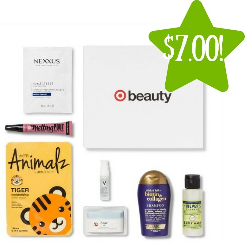 Target: January Beauty Box Only $7.00