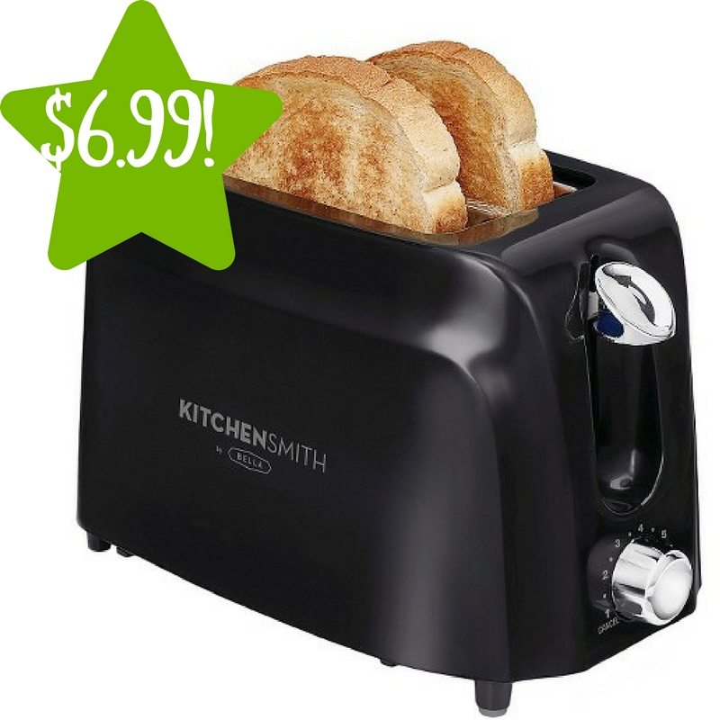 Target: KitchenSmith by BELLA 2 Slice Toaster Only $6.99 (Reg. $13)