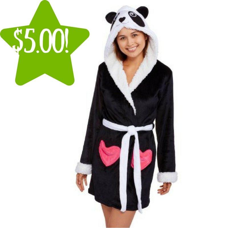 Walmart: Body Candy Huggable Luxe Critter Sleepwear Robe Only $5.00 (Reg. $19)