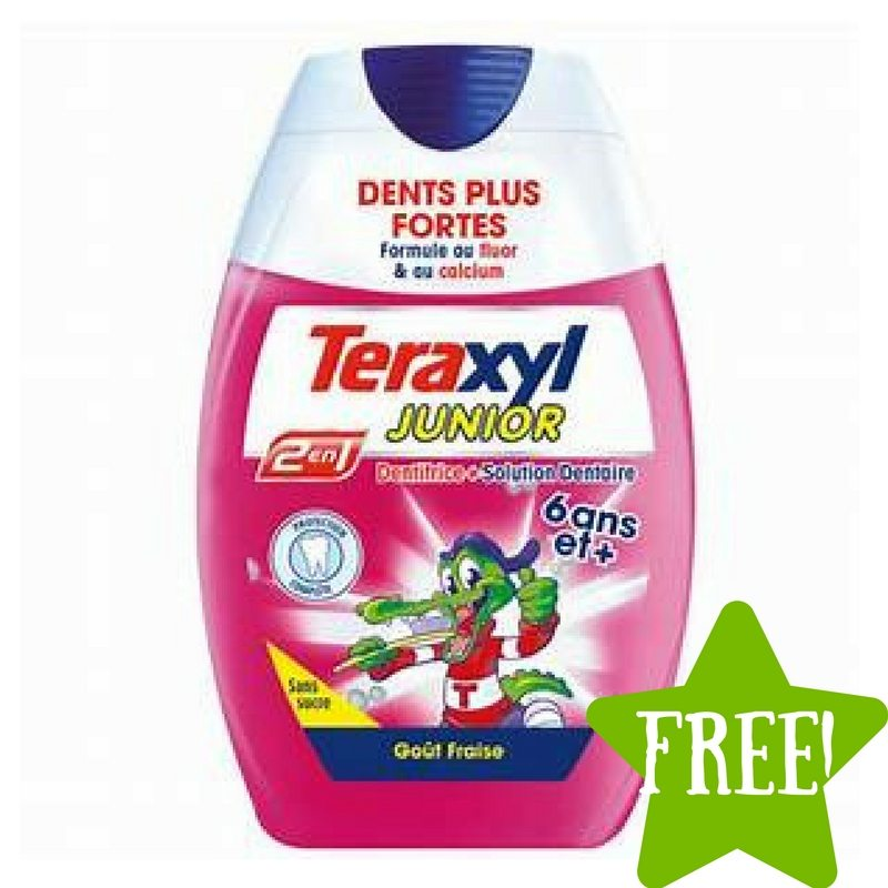 FREE Teraxyl Junior Toothpaste