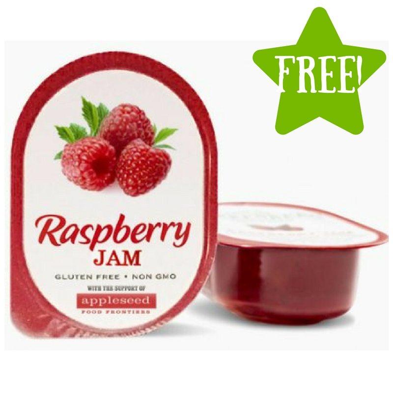 FREE Appleseed Raspberry Jam Sample