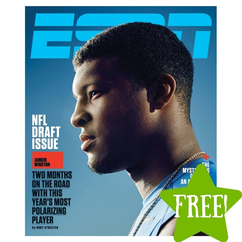 FREE ESPN Magazine Subscription