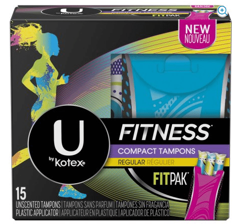 Walmart: U by Kotex Fitness Tampons Only $1.27!