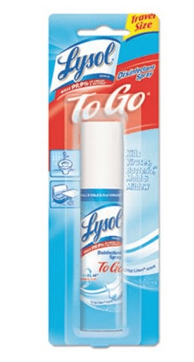 Target: Lysol To Go Spray Only $1.46!