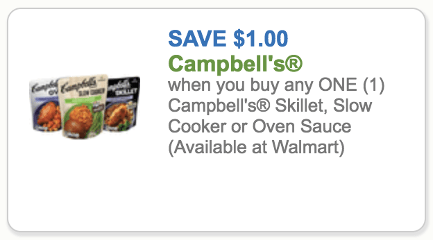 Campbells Slow Cooker Sauce