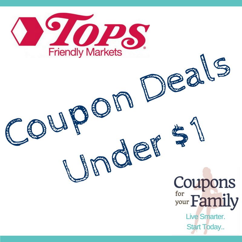 More than 90 Tops Friendly Markets Coupon Deals under $1 thru 9/29!