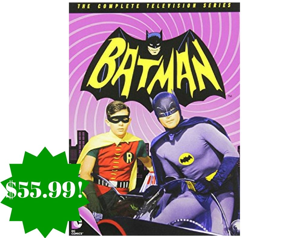 Amazon: Batman: The Complete Television Series Only $55.99 (Reg. $80)