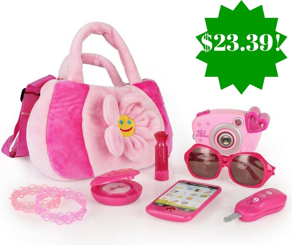 Amazon: My First Purse Pretend Play Set Only $23.39 (Reg. $40)