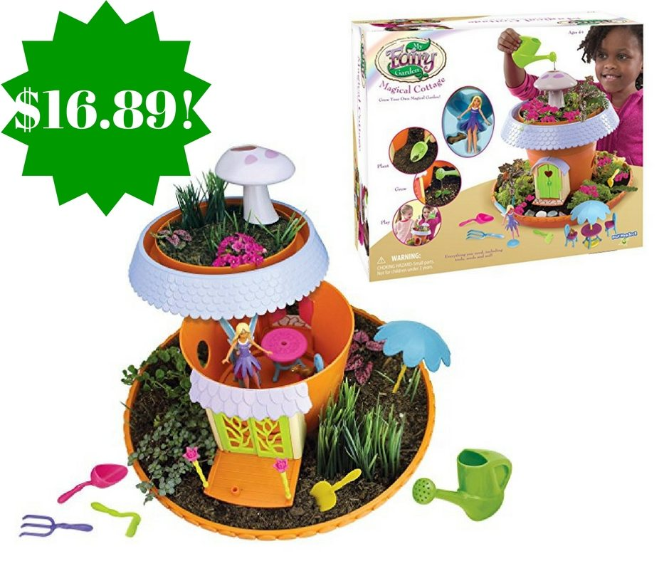 Amazon: My Fairy Garden Magical Cottage Only $16.89 (Reg. $30)