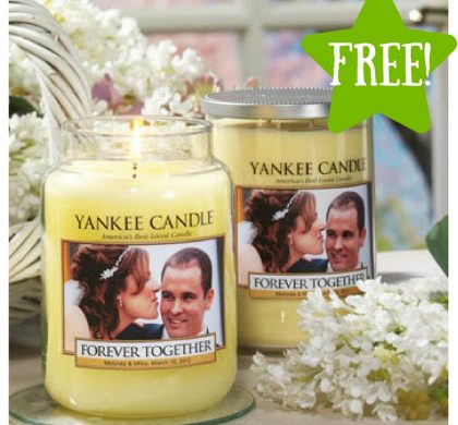 FREE Personalized Photo Label at Yankee Candle