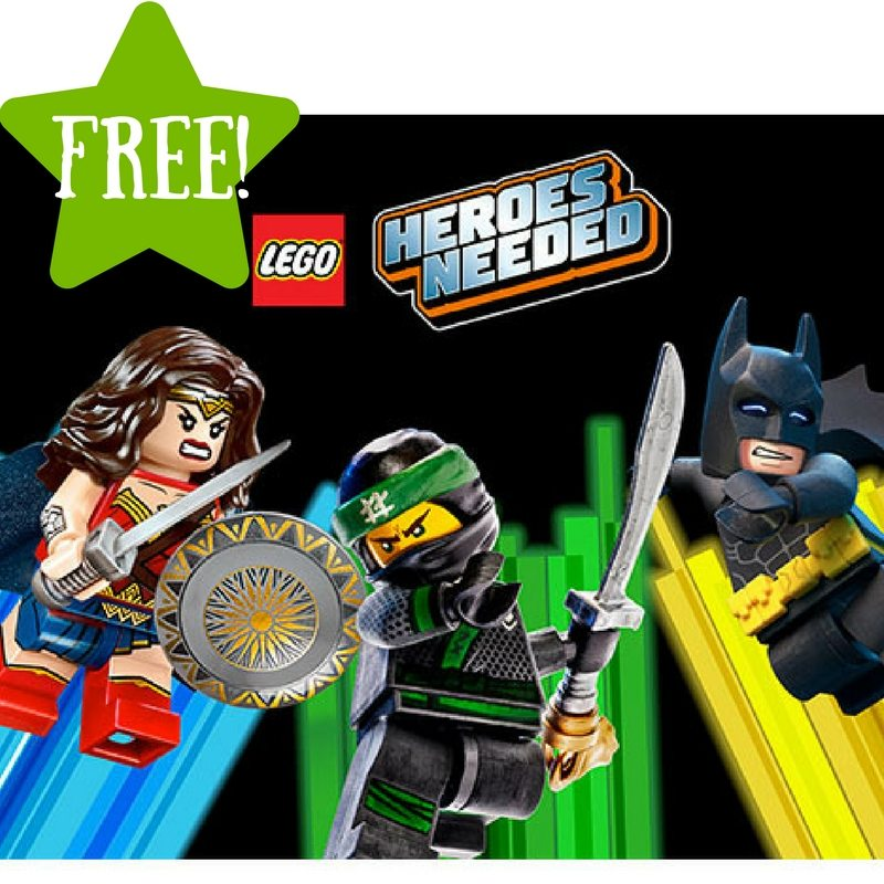 FREE LEGO Heroes Mask at Toys R Us (2/10 Only)