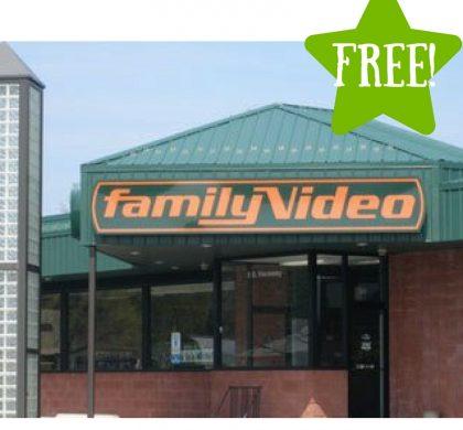 FREE Movie Rental & Popcorn at Family Video