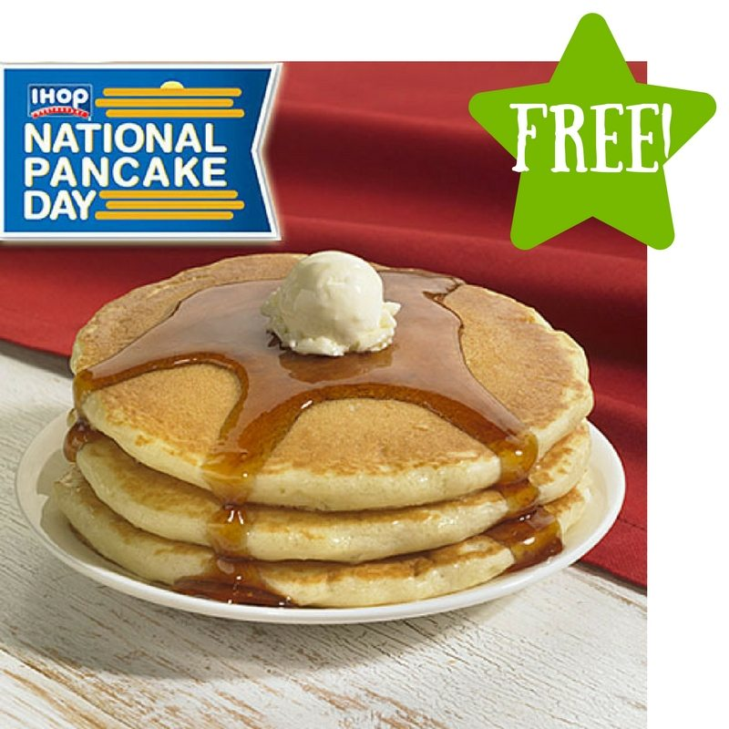FREE Short Stack of Pancakes at IHOP
