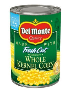 Target: Del Monte Canned Corn Only $0.63!