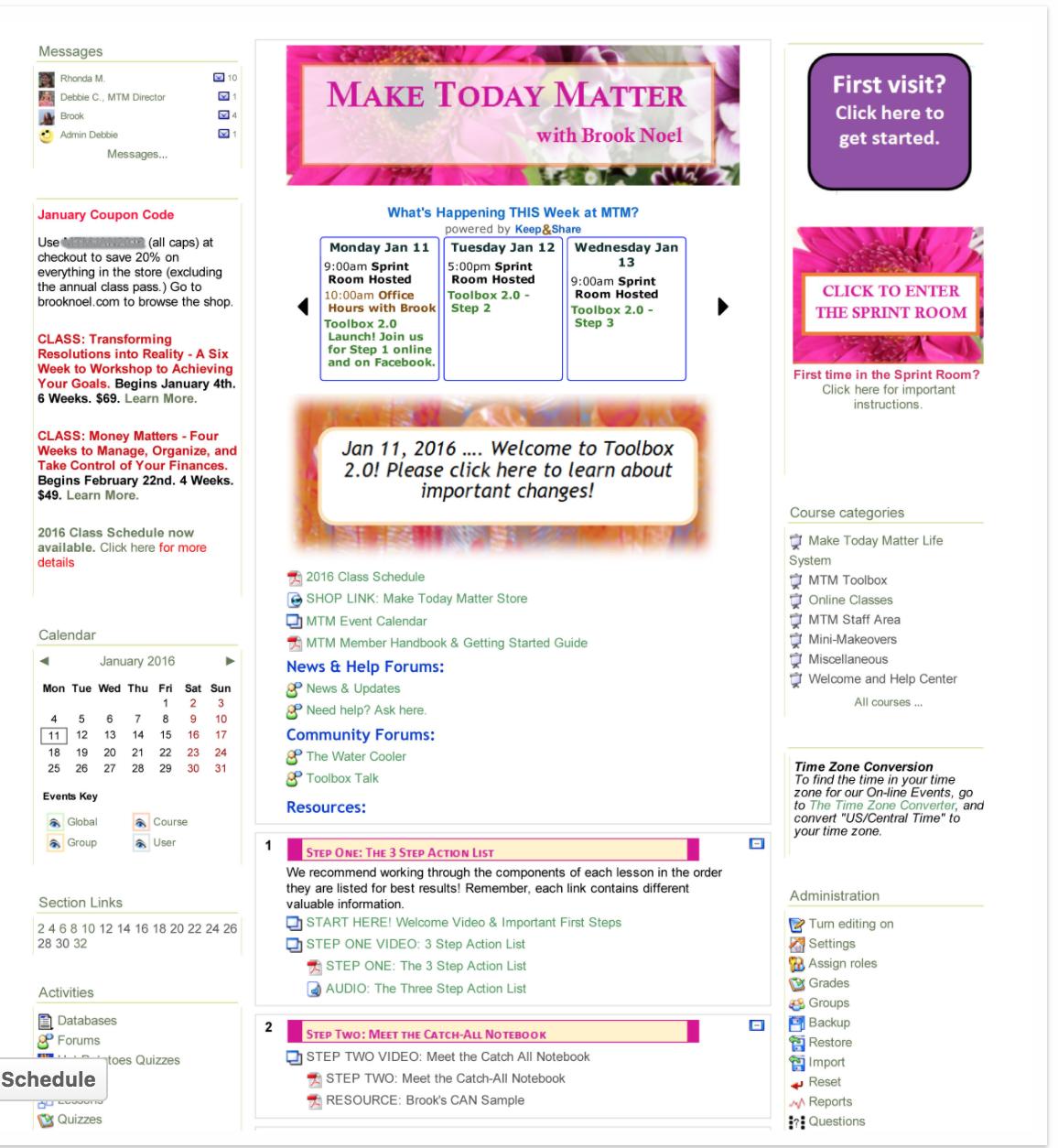 Make Today Matter Full Membership