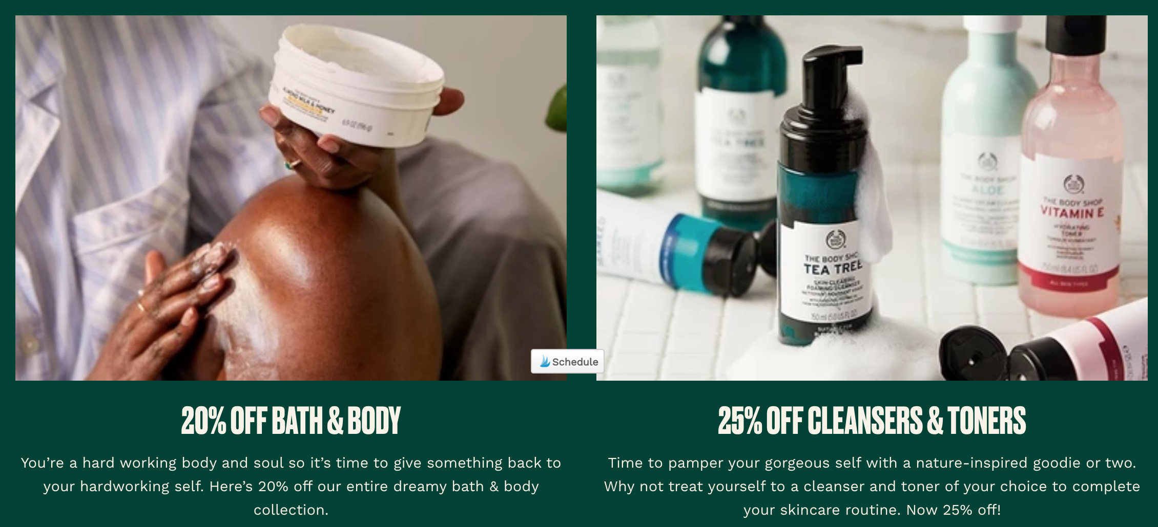 the body shop coupon code
