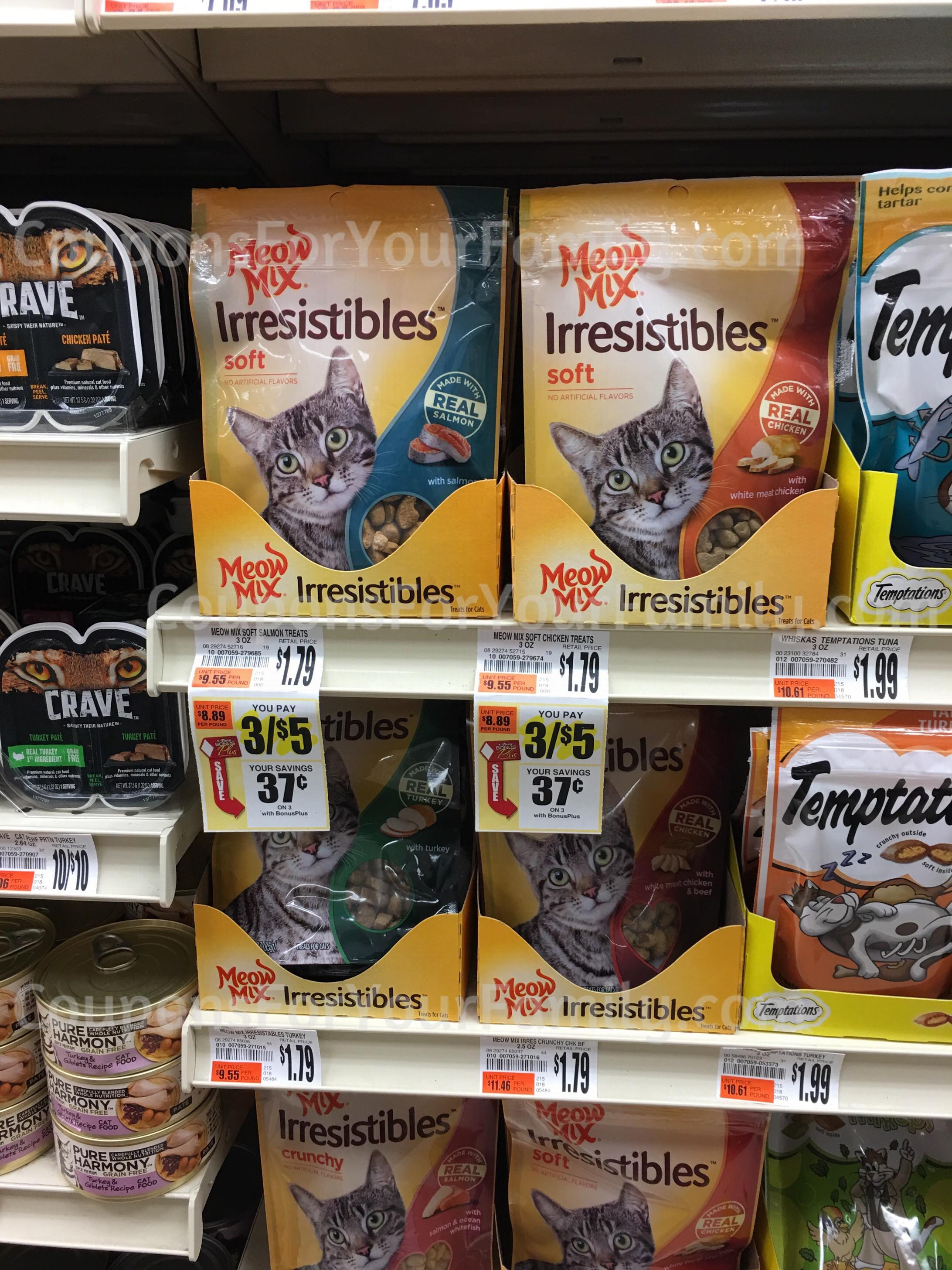 Tops markets meow mix coupon deals