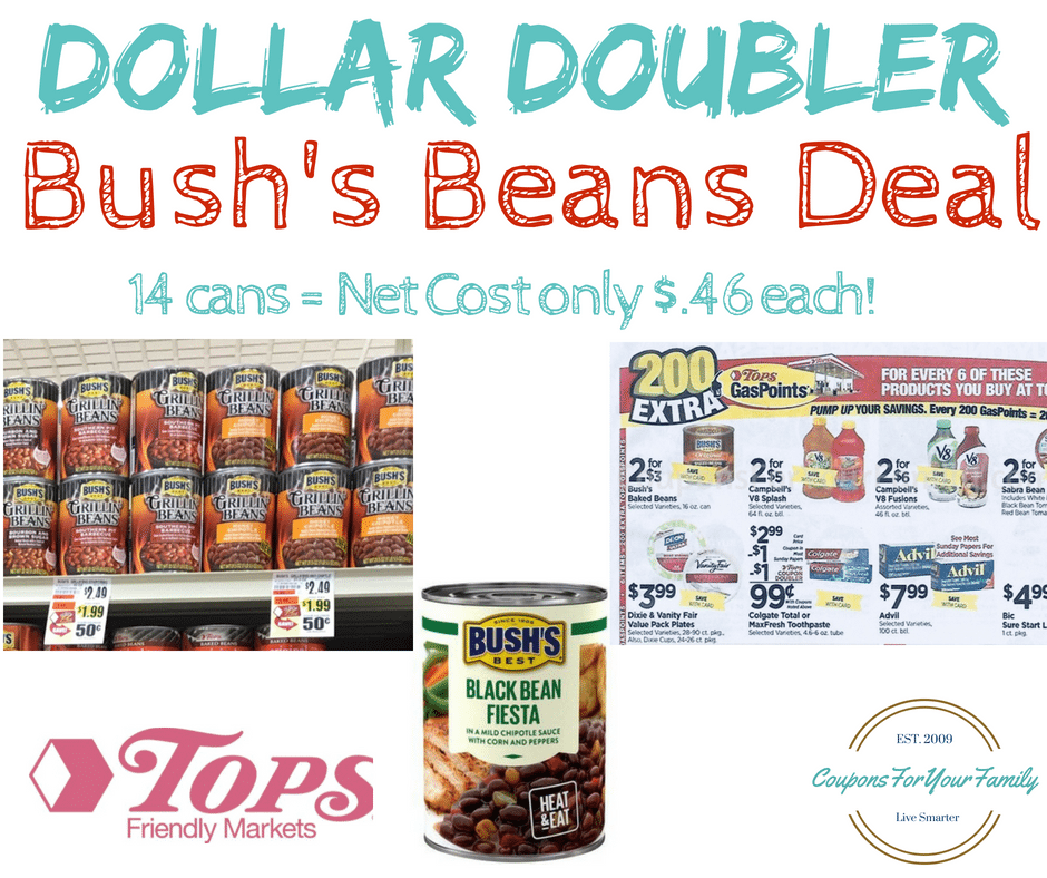 Bush Beans Dollar Doubler Deal