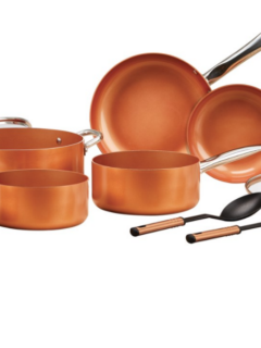 Copper Chef Pan Set