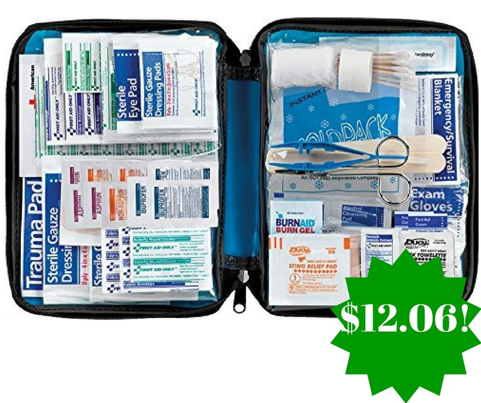 Amazon: First Aid Only All-Purpose First Aid Essentials Kit Only $12.06 (Reg. $27)