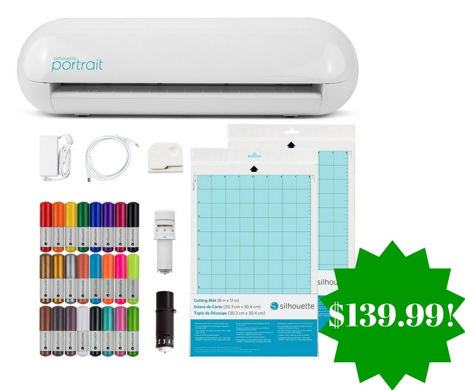 Amazon: Silhouette Portrait 2 Starter Bundle Only $139.99 (Reg. $270, Today Only)