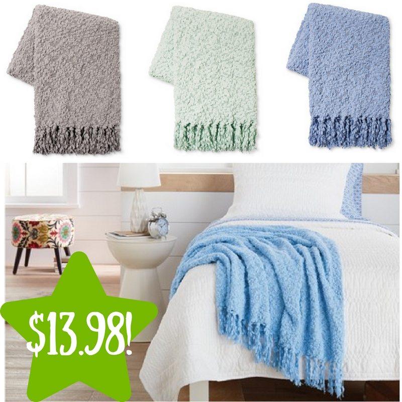 target popcorn knit throw blanket only 13 98 reg 20