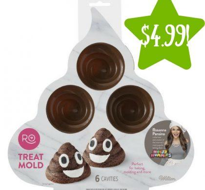 Walmart: Wilton Silicone Poop Swirl Treat Mold Only $4.99 (Reg. $14)