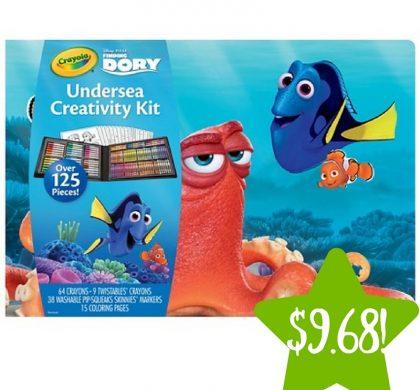 Target: Crayola Finding Dory Undersea Creativity Kit Only $9.68 (Reg. $19.36)
